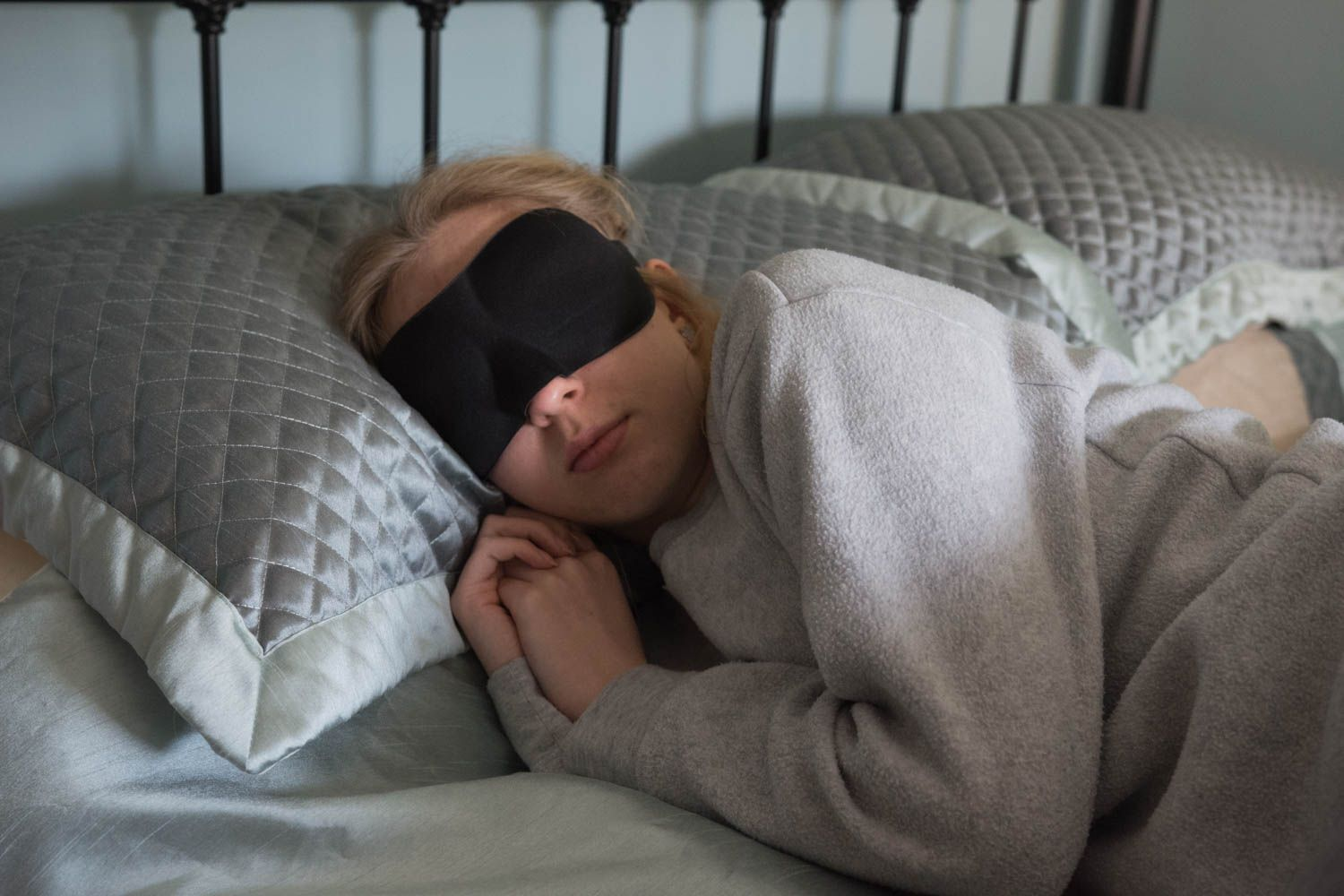 Confession time: I am completely dependent on eye masks for sleep. If I'm traveling and forget one, I'll use towels and t-shirts to cover my eyes.